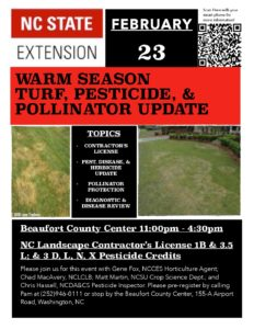 Cover photo for Warm Season Turf, Pesticide, and Pollinator Update