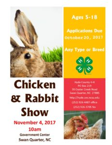 Cover photo for 5th Annual Chicken & Rabbit Show