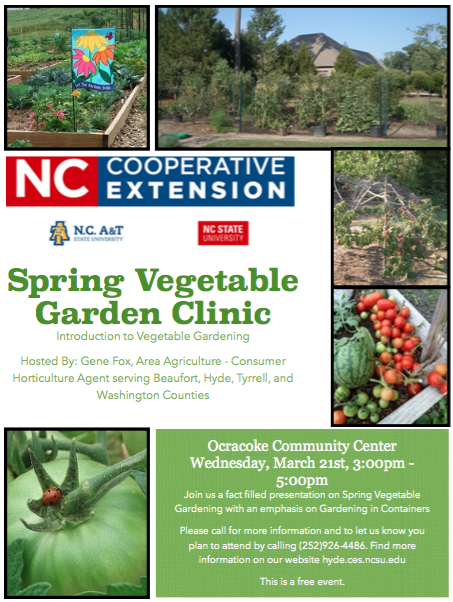 Join Gene Fox Area Agriculture Consumer Horticulture Agent To Learn How To Grow Vegetables In The Home Landscape This Will Be An Introductory Class That