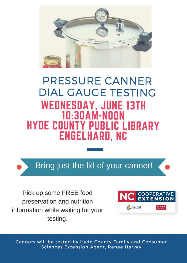 Pressure Canner Dial Gauge Testing flyer image