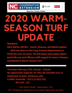 Continuing Education for Professional Turf Managers