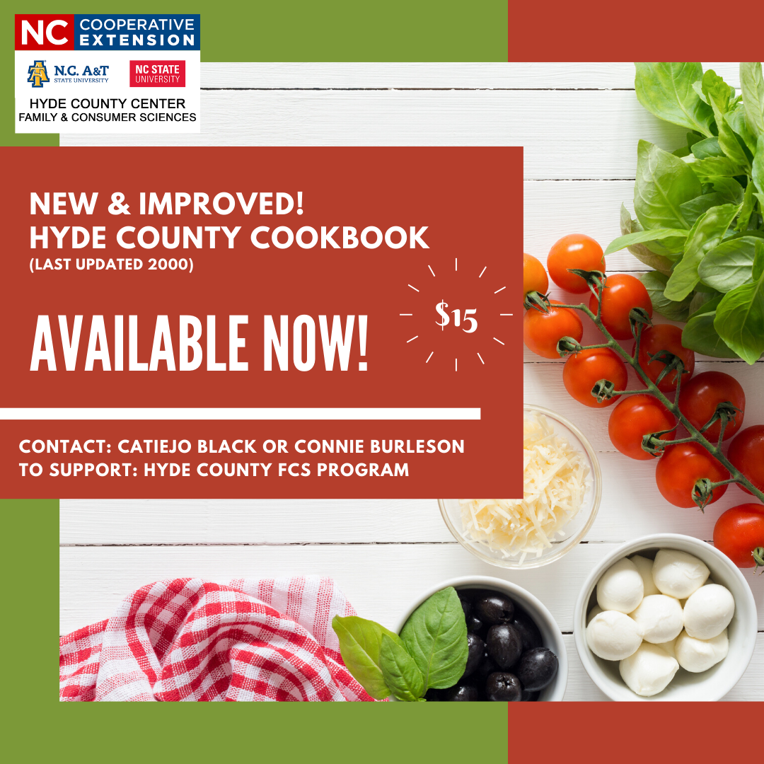 Hyde County Cookbooks Available