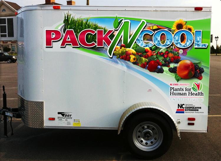 Pack 'N Cool trailer