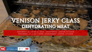 Venison Jerky Class