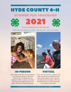 Cover photo for Hyde County 4-H Summer Fun!!!