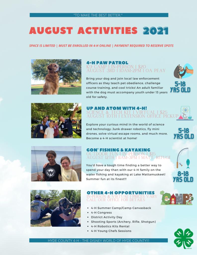 June activities page 3