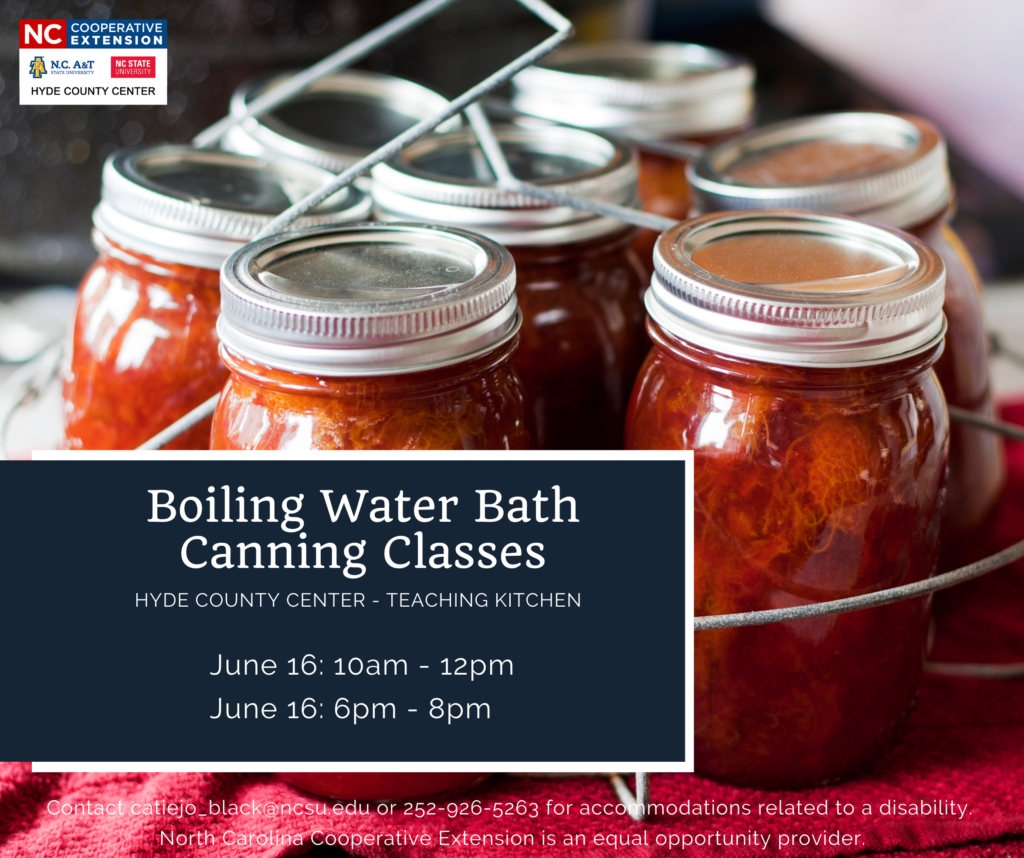 Boiling Water Bath Canning Flyer